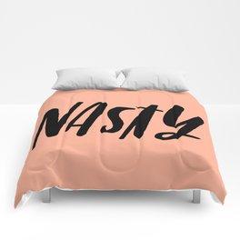 NASTY Pink and Black Comforters