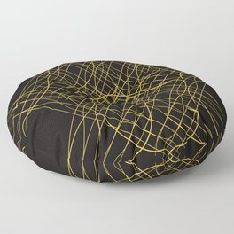 The Path of Dust Floor Pillow