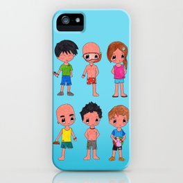 MiniPolseres Estiu iPhone Case