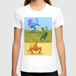 Groovy Dancer Yellow T-shirt