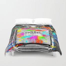 No 5 Rainbow Colors Duvet Cover