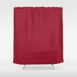 Chili Pepper | Pantone Fashion Color | Fall : Winter 2019-2020 | New York | Solid Color | Shower Curtain