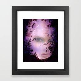 The Muse Framed Art Print