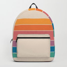Boca Spring Stripes Backpack