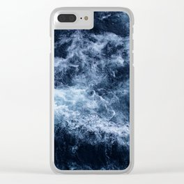 Lake Superior #5 Clear iPhone Case