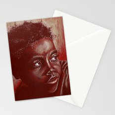 think about africa! Stationery Cards
