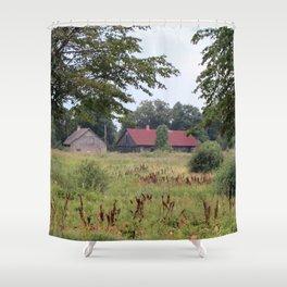 Farm Life in Latvia Shower Curtain