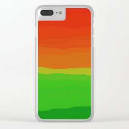 Candy Watermelon Abstract Clear iPhone Case