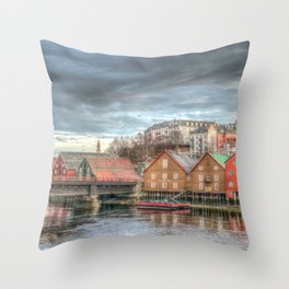 The beauty of home Throw Pillow