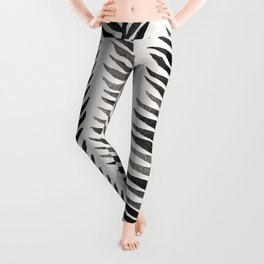 Black Seaweed Leggings