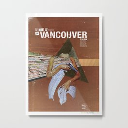 Locals Only - Vancouver Metal Print