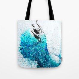 Tropical Reef Dance Tote Bag