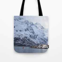 Lone sailor Tote Bag