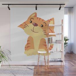 My Cat Wall Mural