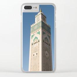 Hassan II Mosque - Casablanca Clear iPhone Case