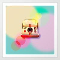 polaroid Art Prints featuring Polaroid by Tony Vazquez
