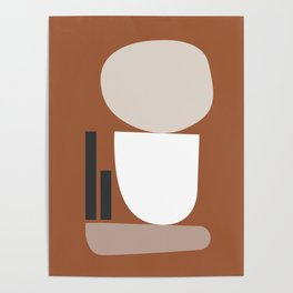 Shape study #11 - Stackable Collection Poster