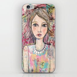 Just a Girl  iPhone Skin