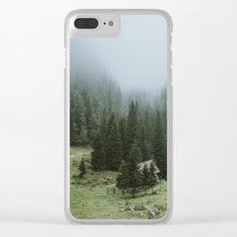 Planina pri jezeru Clear iPhone Case