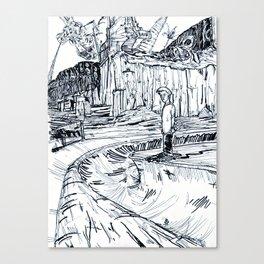 The Skater Canvas Print