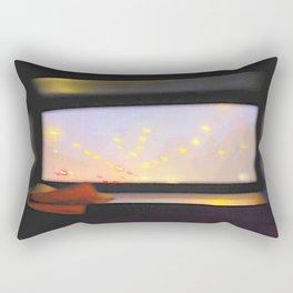 double-decker window Rectangular Pillow