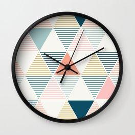 Modern Geometric Wall Clock