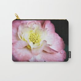 Beth March - Pink Begonia Carry-All Pouch
