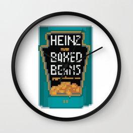 Heinz Baked Beans Pixel Art DayZ Wall Clock