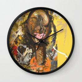 Invictus Wall Clock