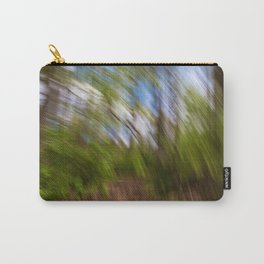 Abstract Forest Streaks Carry-All Pouch