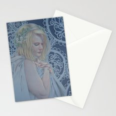 Winter Lace Stationery Cards