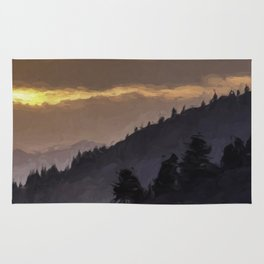 Valley Sunset Rug