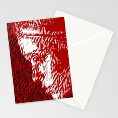 thoughtful woman Stationery Cards