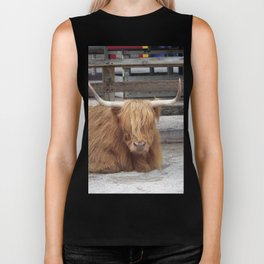 My Name is Shaggy. Is Anyone There? Biker Tank