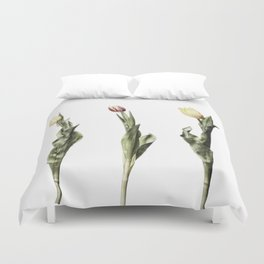 Mixed Tulips Group Duvet Cover