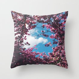 SPRING 5 Throw Pillow
