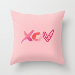 with love, bree Throw Pillow