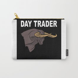 Stock Exchange Capitalism Daytrader Bull Carry-All Pouch