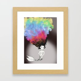 Feeling Colorful Framed Art Print