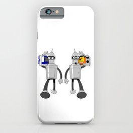The Future of Good and Evil iPhone Case