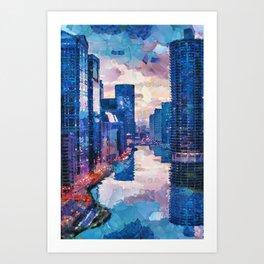 New Venice Art Print