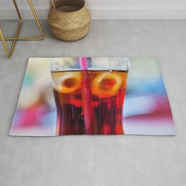 Coke and Ice Rug