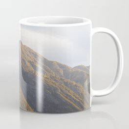 Lake Como Hills at Sunset Coffee Mug