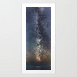 Portrait of a Galaxy Art Print