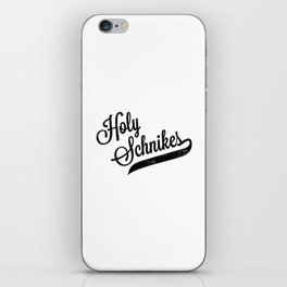 Holy Schnikes iPhone Skin