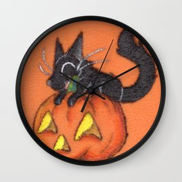 Trick and Treat Wall Clock