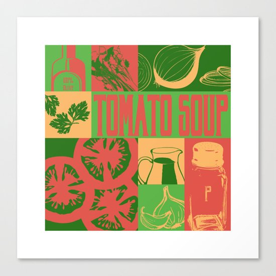 Tomato Soup Canvas Print