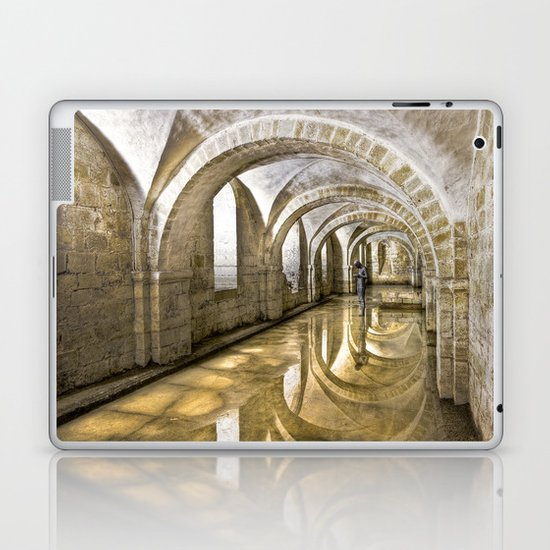 Winchester Cathedral Crypt Laptop & iPad Skin
