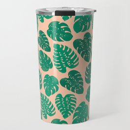 Cheese Plant - Trendy Hipster art for dorm decor, home decor, ferns, foliage, plants Travel Mug
