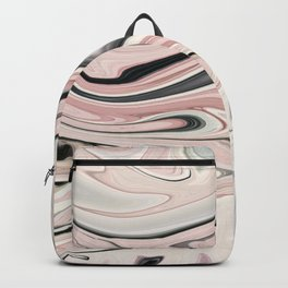 Abstract Art. Pink Backpack